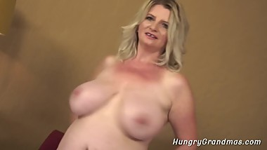 Mature Bitch Enjoys Hard Pussy Banging