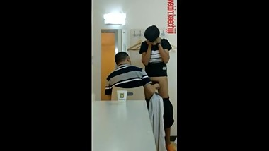 Mature Chinese Man Milks Teen