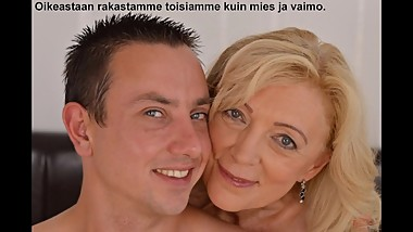 Slideshow with Finnish Captions: Hungarian Mom Szuzanne 2