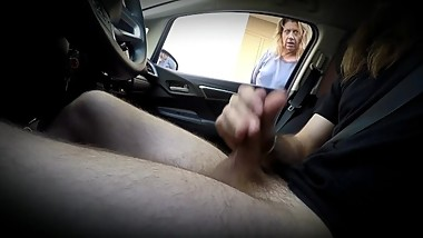 Small Cock Flashes Sexy MILF