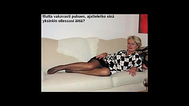 Slideshow with Finnish Captions: Mom Justine 1