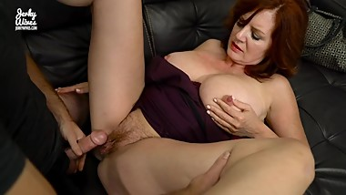 Andi James in Step Son is step mom's stress release