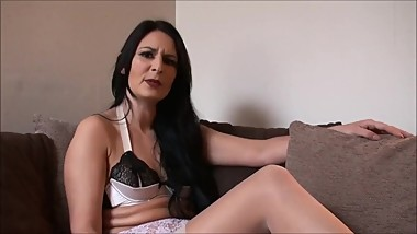 Real Female Sub Choked Gagging Big Orgasm