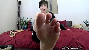 My Whole Foot in your mouth - foot fetish POV for true sole slaves