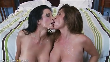 Cum on MILFs Compilation 3
