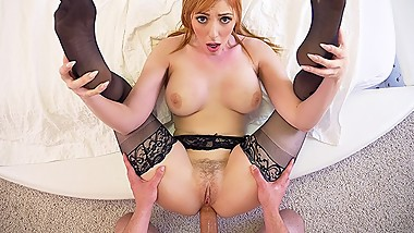 PureMature MILF Lauren Phillips surprises bf with valentines anal fuck