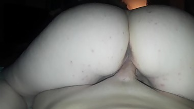 Thick mature riding my dick