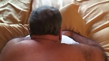HORNY MARRIED DADDY GETS FUCKED!!!