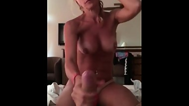 Amazing Blowjob From Sexy Polish Slutwife