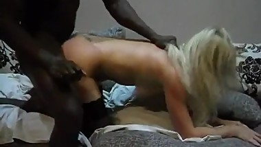 Sexy Ukrainian Wife Gets Her First Canadian Black Bull While Hubby Films