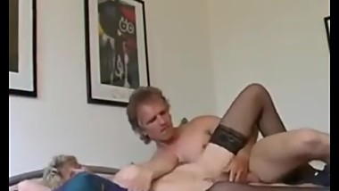 Dirty German mature loves fucking strangers