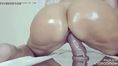 Mature Big Ass Slut Fucks Bbc Dildo