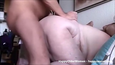 Granny near 80yrs old ass fucked