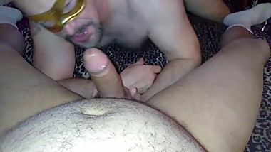 sucking mature latino papi