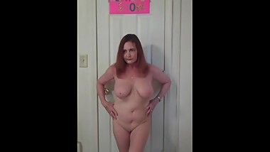 Redhot Redhead Show 11-19-2017 (Just Nude Posing)