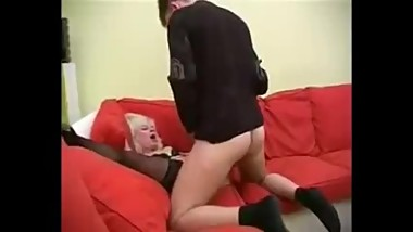 Russian granny having sex with boy