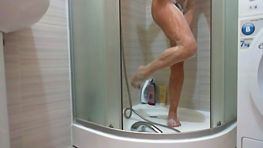 Custom video .Pee on Feet Shower