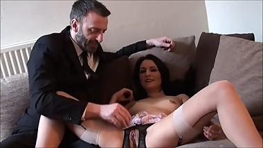 Milf Submissive Choked For Big Orgasm