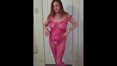 Redhot Redhead Show 11-1-2017 (Posing in Lingerie)