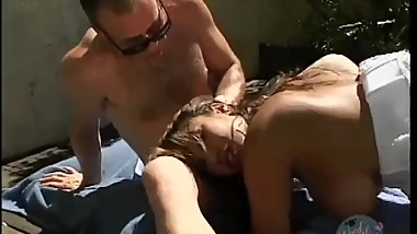 AVA DEVINE PUTS HER TITS TO GOOD USE