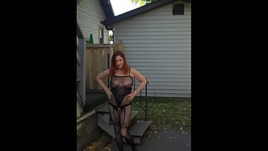 Redhot Redhead Show 10-13-2017 Pt. 4 (Public Pussy)