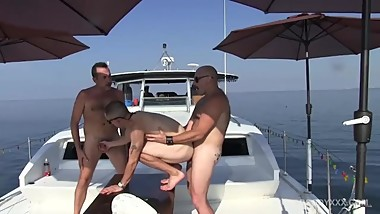 Off Shore Gang Bang Floating Sex Orgy