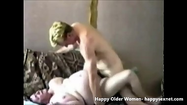 I paid my old maid for sex. Amateur older