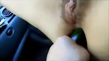 Extreme anal in car with my italian bitch