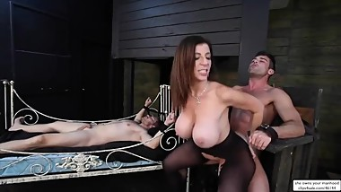 Slut Stepmom Sara Jay Has Sex Slaves