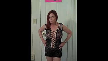 Redhot Redhead Show 9-11-2017 Pt. 1 (Sexy Dress Photoshoot)