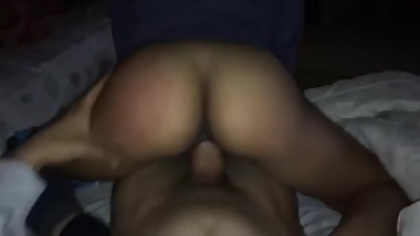 Horny housewife teasing her horny husband