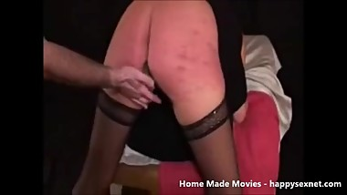 Wife punished to be a whore ! Amateur home made