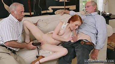 Samantha's old mature bondage xxx guy forces young girl dad and