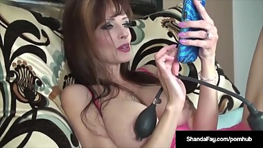 Dirty Talking Shanda Fay Gives You a Dildo Banging Fantasy!