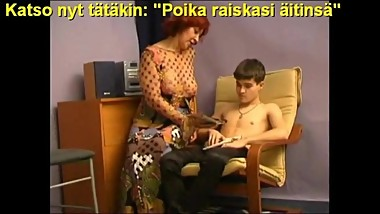 Slideshow with Finnish Captions: Mom Alexandra 2