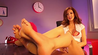 Cara Steel - High Arches & Between The Toes (Best Feet EVER)!!!!!!
