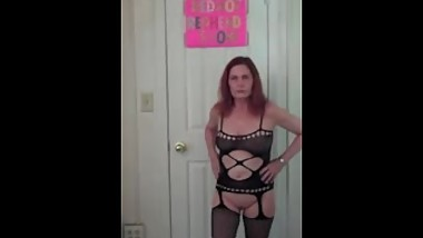Redhot Redhead Show 6-14-2017 (Lingerie Photoshoot Part 3)