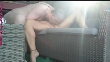 MILF in the morning ... ** Outdoor Prelude **