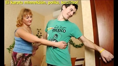 Slideshow with Finnish Captions: Mom Emilia 3