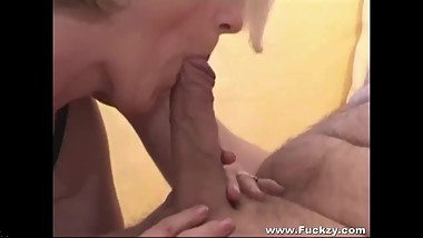 Chubby Mature Amateur Whore Films Her Own Sextape