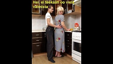 Slideshow with Finnish Captions: Mom Lena 3