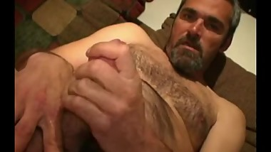 Mature Amateur Barry Jerks Off