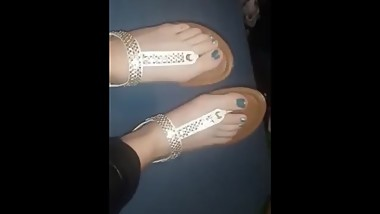 Ricarda´s Feet in Sandals