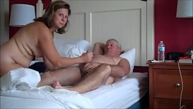 001 Mature couple sex