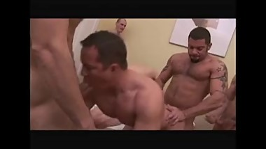 Dads and boys orgy