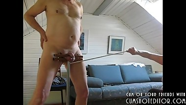 Punishing His Cock And Balls