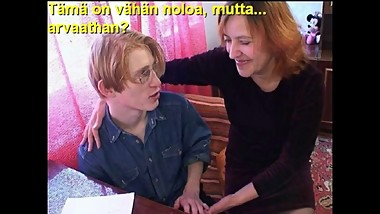 Slideshow with Finnish Captions: Mom Mika 3