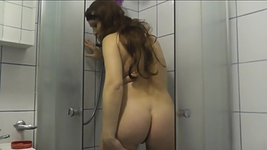 Pissing. Next video Golden Rain from DuBarry. Piss in shower close-up POV