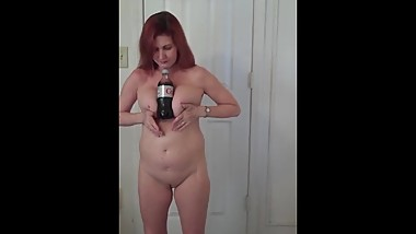 Redhot Redhead Show 2-2-2017 (hold a Coke with your boobs challenge)