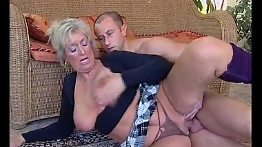 Mature bitch is a fucking whore ! she likes young man cocks to fuck her !